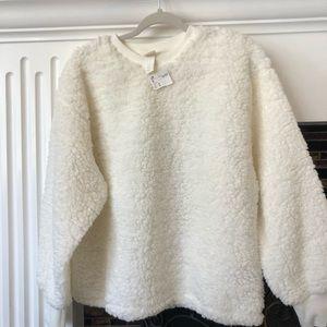 New !!!! H&M furry sweater